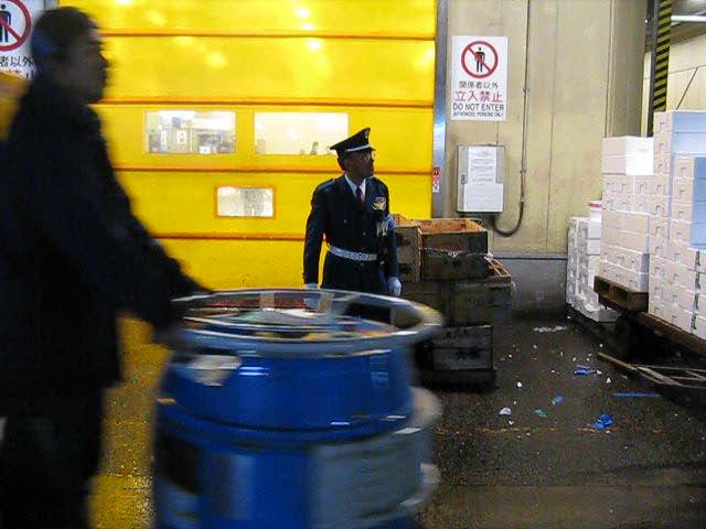 Tsukiji back street