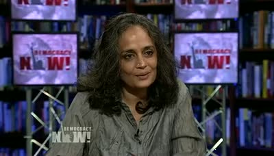 Arundhati Roy on Occupy Wall Street, Empire, Obama, and Walking with the Comrades