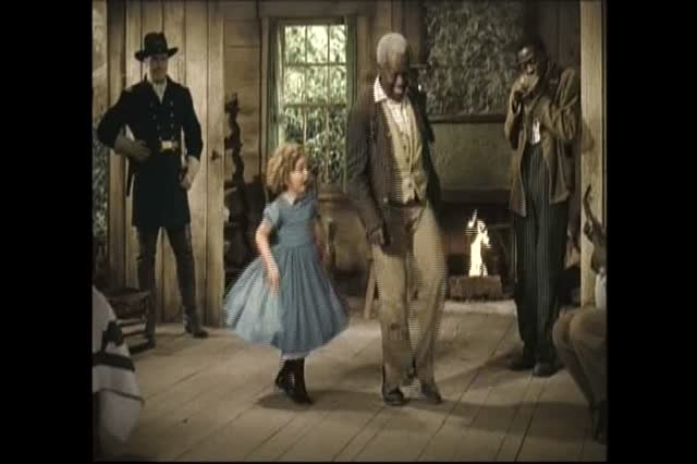 Shirley Temple and Bill 'Bojangles' Robinson