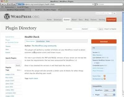 WordPress Plugin Installation Bookmarklet