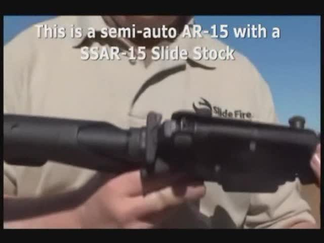"AR-15 ""semi-automatic"" rifle"