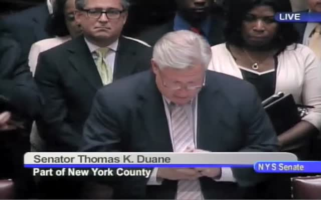 NY Sen. Tom Duane's Moving Speech for Marriage Equality