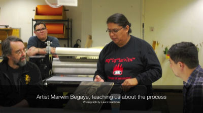 Marwin Begaye – Printmaking