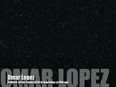 Omar Lopez of the Young Lords Organization