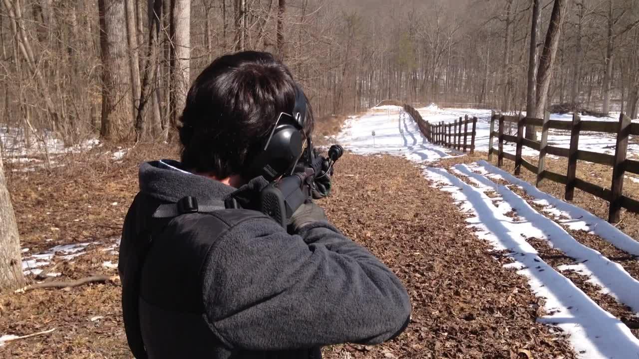Jon Hardister Shooting AR-15