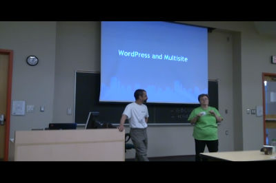 WC Toronto 2011 – WordPress Multisite