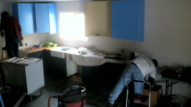 Leckman Kitchen – Cabinet Installation Day 2