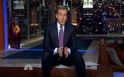 Brian Williams Interviews Marcel the Shell