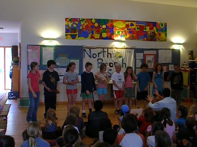 The Juniors sing…