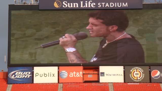 MLB Scott Stapp National Anthem – Computer