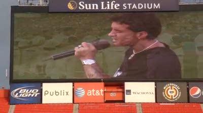 MLB Scott Stapp National Anthem – iPhone