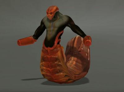 Centipede Creature