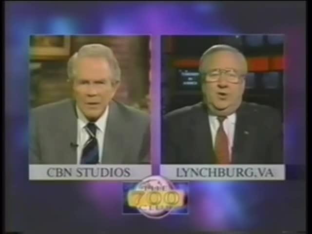 Jerry Falwell and Pat Robertson on 9-11