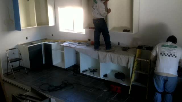Leckman Kitchen – Cabinet Installation Day 1