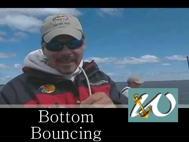 Bottom Bouncing spinner action
