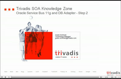 Oracle Service Bus 11g and DB Adapter – Part II: The video