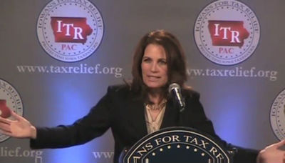 "Bachmann: ""the greatness and essence of this nation"""