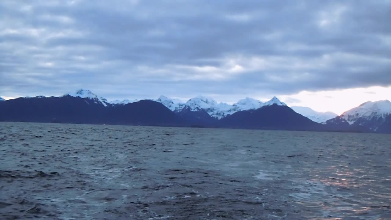 First Sunrise over Sitka Sound, 4.3.12