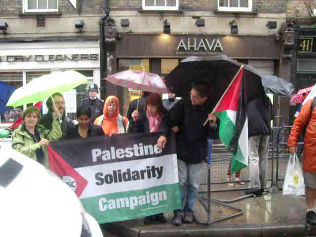 Ahava, London 16th July – Calling for Israel's destruction.