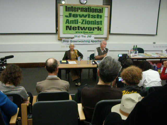 Uri Davis talk to International Jewish Anti-Zionist Network, SOAS, London on 8th June 2010
