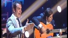 """Villancico """"Campanilleros"""" por Jesús Méndez al cante y Manuel Valencia"""