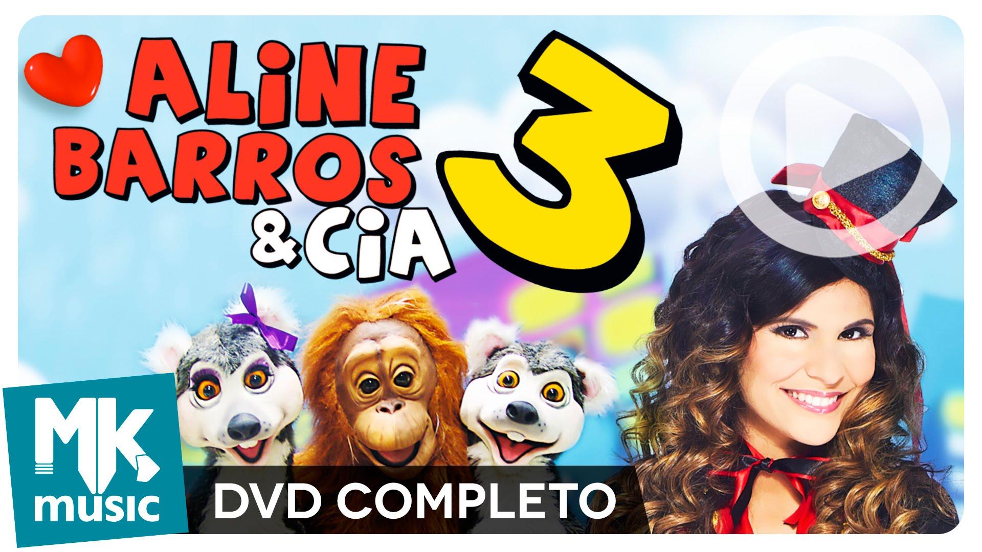 Dvd Aline Barros E Cia 3 Completo Dia Das Criancas