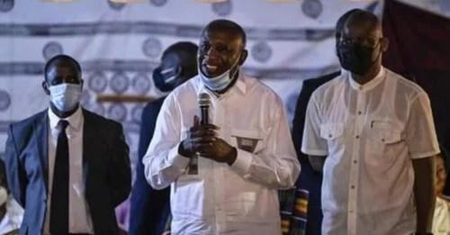 Laurent Gbagbo à Mama après 10 ans d'absence