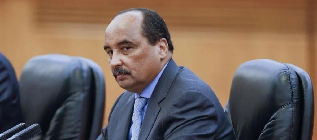 L'ex-Président de Mauritanie Arrêté