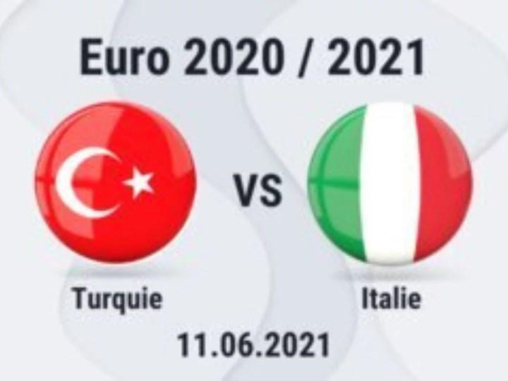 Suivez en Direct EURO 2020: Turquie vs Italie