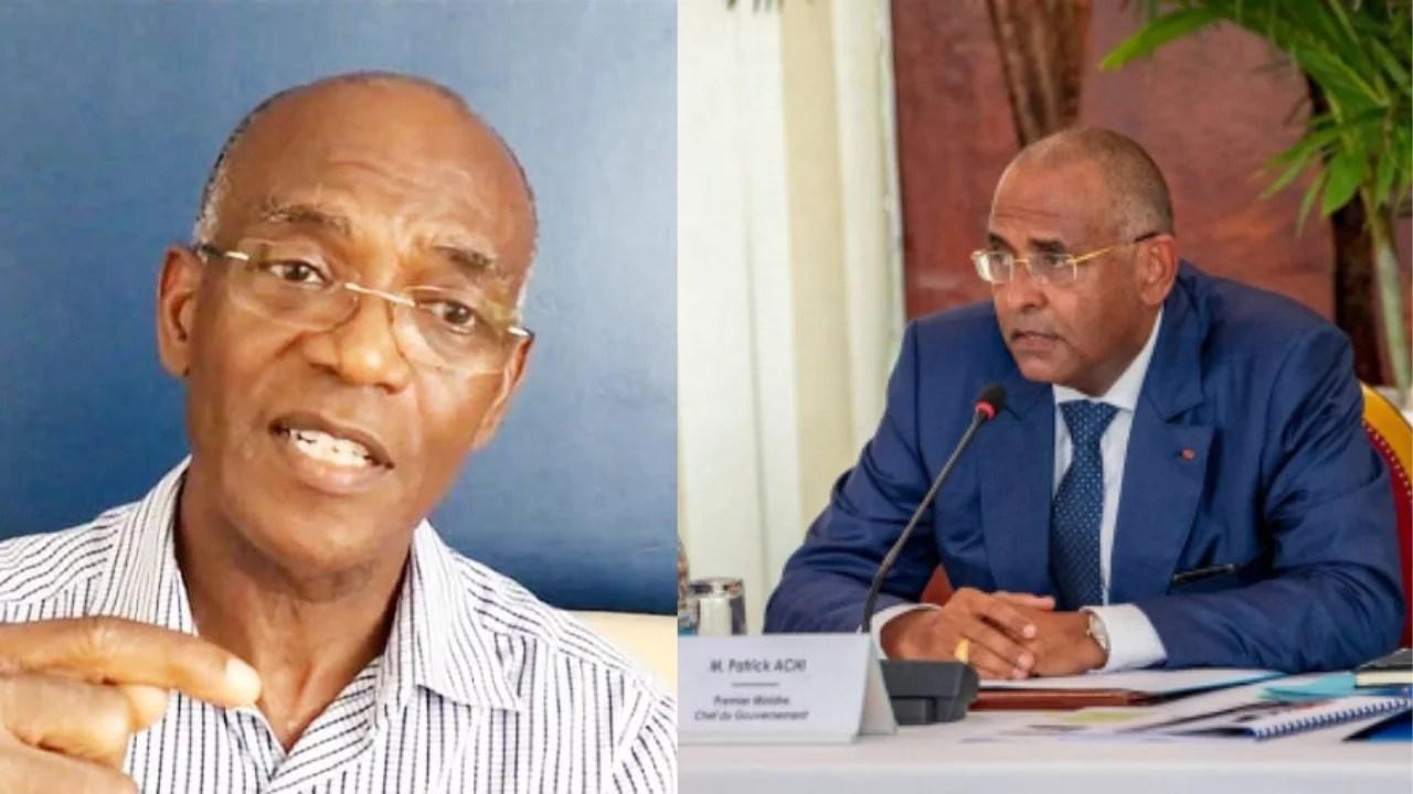 Urgent: Patrick Achi contre Mamadou Koulibaly: Voici les vraies raisons
