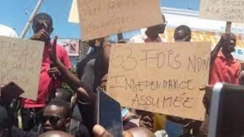Guinée: Des manifestations contre l'arrivée de la délégation de la CEDEAO
