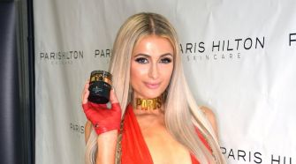Paris Hilton Discussing Paris Hilton Skincare