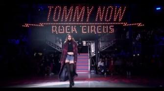 Tommy x Gigi Fall 2017 Sizzle - London Fashion Week
