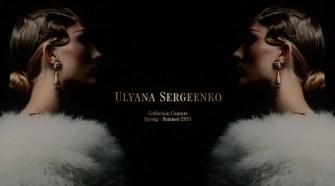 ULYANA SERGEENKO COUTURE Spring-Summer 2021