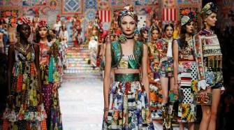 The Dolce&Amp;Gabbana Women's Spring Summer 2021