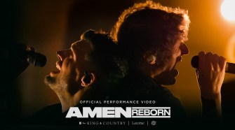 for KING & COUNTRY - Amen (Reborn) [feat. Lecrae & The WRLDFMS Tony Williams] Performance Video