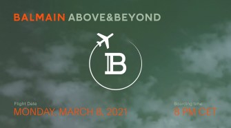 BALMAIN ABOVE & BEYOND ✈️ FW21 SHOW