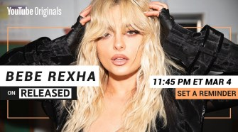"Bebe Rexha - ""Sacrifice"" I Countdown to Premiere on RELEASED (Set a Reminder)"
