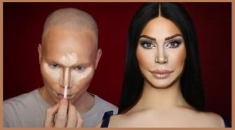 Kim Kardashian Makeup Transformation | Alexis Stone