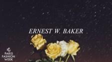 Ernest W. Baker - Paris Fashion Week Spring/Summer 2022