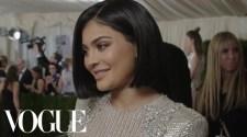 Kylie Jenner On Her First Met Gala | Met Gala 2016