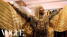 """Billy Porter Gets Dressed In Gold For His """"Sun God"""" Met Gala Look 