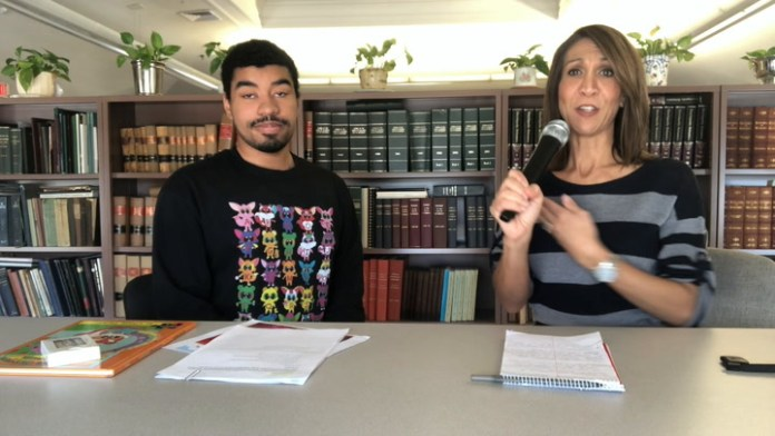 Meet Chase Taylor from Waterbury who is blowing up barriers related to people with Autism. He is an author, PSA star, and talk show host.  Watch as he turns the mic on Community Karen and conducts his own talk show interview.