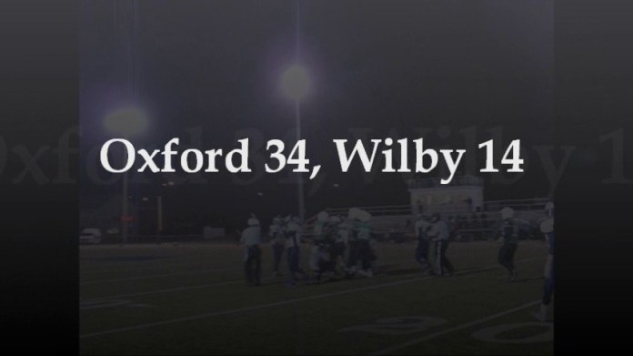 Oxford downs Wilby in football