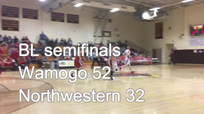 BL semifinals: Wamogo rolls past Northwestern
