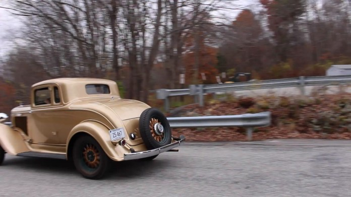 Kevin Mackiewicz of East Litchfield, CT first spotted his 1933 Plymouth coupe in 1970 but it wasn't until 2008 that he was able to buy it and have it restored. He now takes it to car shows and drives it for pleasure.