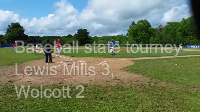 Baseball tourney: Mills knocks out defending champ Wolcott