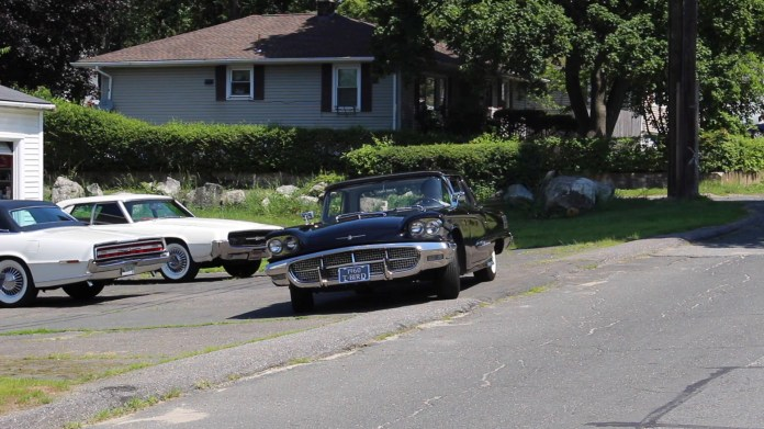 Anthony Britto of Waterbury collects classic Ford Thunderbirds. The centerpiece of his collection is a sparkling black 1960 T-Bird but he also has 1967 and 1968 models, both white.