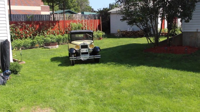 Dave Foth of Torrington owns, and occasionally drives, a yellow nad black 1930 American Austin coupe. American Austin only built cars between 1930 and 1934 at a plant in Butler, Penn.