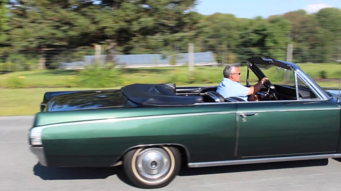Mark Gauthier of Harwinton, Conn. owns a 1963 Buick Skylark that has a one-year body style and a 215 cubic inch, 200 horsepower, aluminum V8 engine.